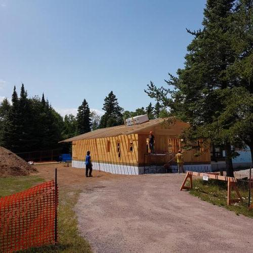 Sleeping Giant Ranger Lodge - Extensive Renovation and New Addition Construction - Mould Remediation and Foundation Remediation, All New Exterior Finishing and Interior Finishing