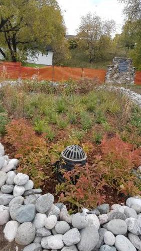 Nipigon Cenotaph Rain Garden - Civil Construction and Landscaping
