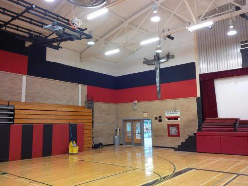 St. Ignatius Gymnasium Tectum Acoustical Paneling - Institutional Renovation