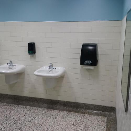 Gron Morgan Washrooms - Institutional Renovation