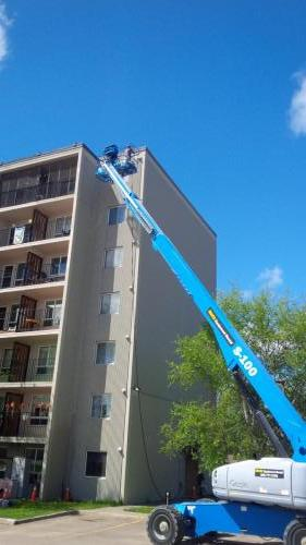 Elizabeth Court - New Exterior Sealing and Painting