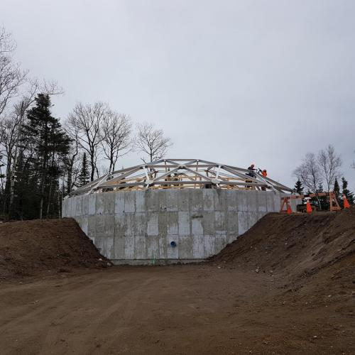 Nipigon Reservoir Construction