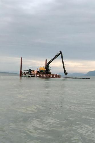 Red Rock Marine Outfall Installation