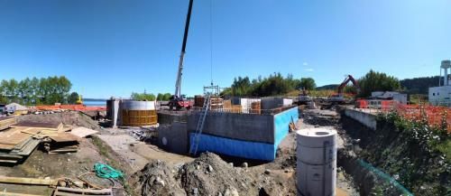 Red Rock Sewage Treatment Plant Building Construction