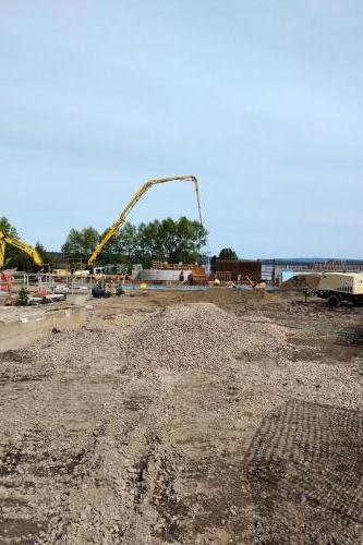 Red Rock Sewage Treatment Plant Clarifier Construction